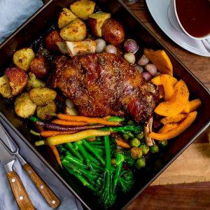 Roast lamb mealbox