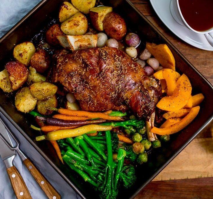 Family Roast & Dessert Meal Kit